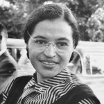Rosa Parks, civil rights activist.
