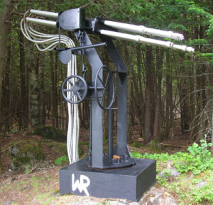 Cloudbuster at The Wilhelm Reich Museum in Rangeley, Maine.